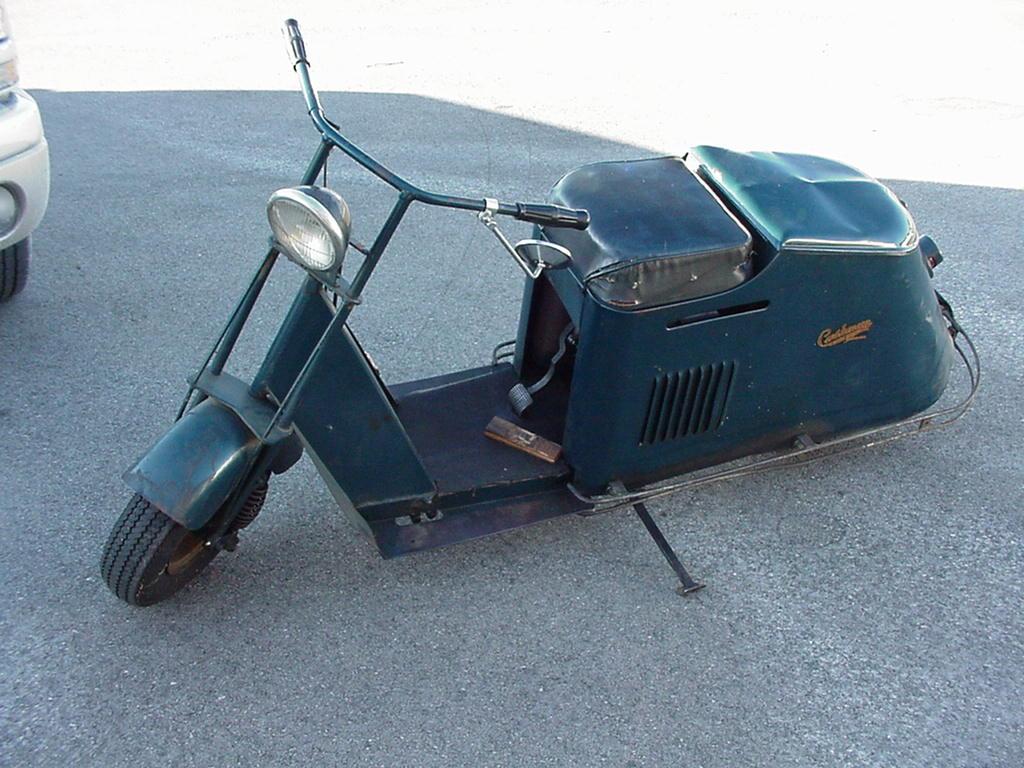 Vintage Cushman Scooters 60