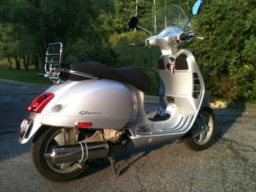 modern vespa 2006 vespa gts 250 cleveland oh sold. Black Bedroom Furniture Sets. Home Design Ideas