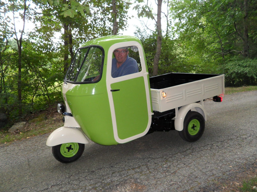 ape piaggio • view topic - 1957 ape c in maine, usa