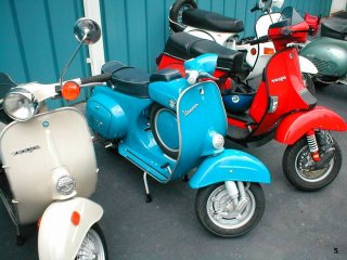 Amerivespa 2003 pictures from Damon
