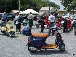 Vespa of Washington White's Ferry Ride 2003 pictures from epskalaw