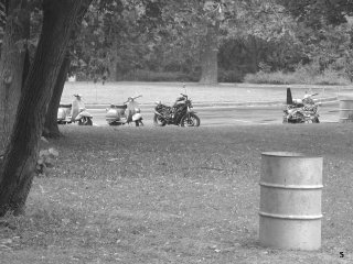 Slaughterhouse 9 - Scooters of Mass Destruction pictures from cha_cha_de_los_corazones_negros_sunday_bbq