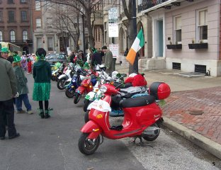 Baltimore Saint Patricks Day Parade - 2004 pictures from SnottyPS
