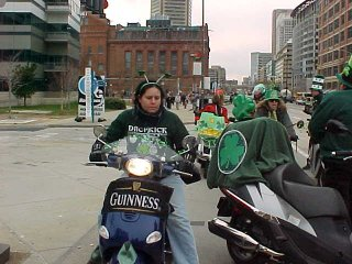 Baltimore Saint Patricks Day Parade - 2004 pictures from Susan