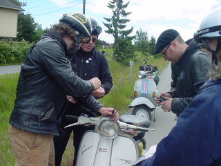 Garden City Scooter Rally - 2005 pictures from BonBon