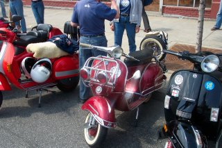 Amerivespa - 2005 pictures from iscoot