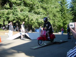 Oregon Scooter Raid - 2005 pictures from Brett