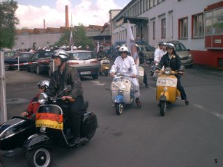 60 years of Vespa ride - 2006 pictures from Aschaffenburg
