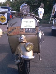 60 years of Vespa ride - 2006 pictures from Buergel