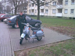 60 years of Vespa ride - 2006 pictures from Hohensyburg