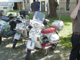 60 years of Vespa ride - 2006 pictures from Lippstadt_Jahresabschluss