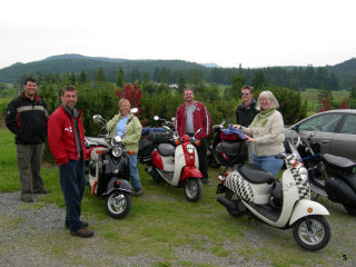Saltspring Scooter Rally - 2006 pictures from Richard_H