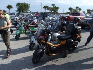 Canaveral Scooter Caper III - 2007 pictures from Ryan