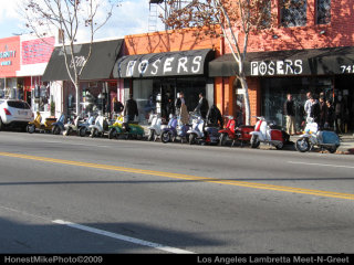 Lambretta Club Los Angeles Winter Ride - 2009 pictures from Honest_Mike