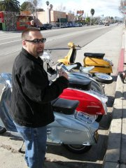 Lambretta Club Los Angeles Winter Ride - 2009 pictures from South_Bay_Doug