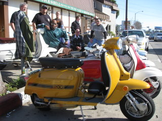 Lambretta Club Los Angeles Winter Ride - 2009 pictures from T_to_the_Odd