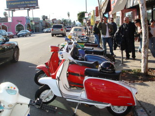 Lambretta Club Los Angeles Winter Ride - 2009 pictures from Terry