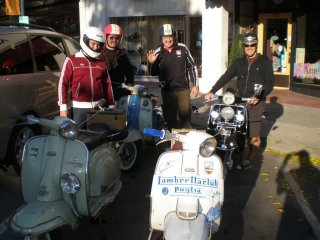 Lambretta Club Los Angeles Winter Ride - 2009 pictures from Tim_Loungway