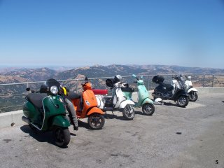 Amerivespa - 2009 pictures from SantaCruzMark