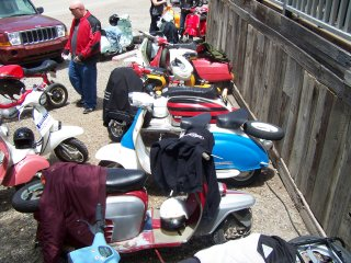 Lambretta Jamboree - 2009 pictures from stevet