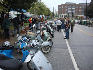 Resurgence Scooter Rally - 2009 pictures from Derrick
