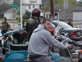 Pictures from the 2002 Mods & Rockers ride.