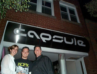 Pride of Cleveland Scooter night at Capsule 2002 pictures from New_POC_Chick_Michelle