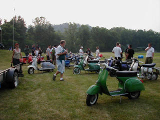 Pittsburgh Vintage Scooter Club's Parole Violation 2002 pictures from robby